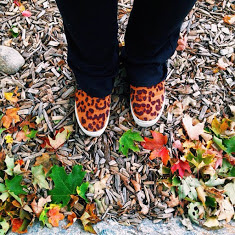 fall leaves shoes